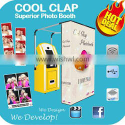 Popular Vending Photo booth Photo Shoot Machine Good For Shopping Mall Promotion