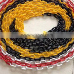Link warning plastic chain Traffic cone road safety chain