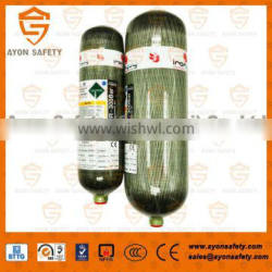 Carbon fiber composite cylinder cylinder/Air cylinder with 3L/6.8L/9L for SCBA with heat resistant materials