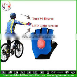 Factory directly sell full finger men cycling gloves bicycling gloves with right and left turn