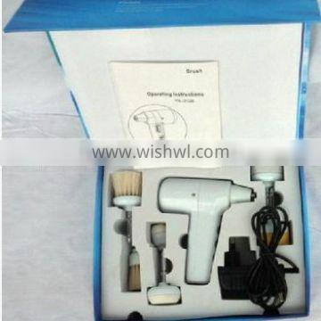 Electric Rotating Facial Cleansing Brush with 5 replacement heads