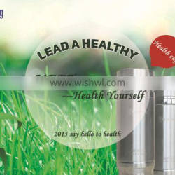 Personalised high quality alkaline energy water flask