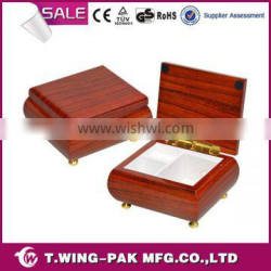 Skillful manufacture unfinished wood custom logo printed ballerina musical jewelry boxes manufacture china