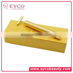 24k gold facial beauty bar Gold vibration beauty device beauty and cosmetic accessories