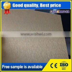color painted anodized brushed aluminum sheet for nameplate printing