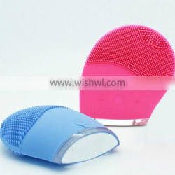 Silicone rechargeable facial massager