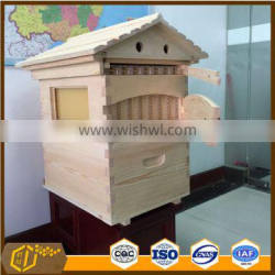 Factory low price automatic bee hive with 7 pieces honey outflow frames for beekeeping