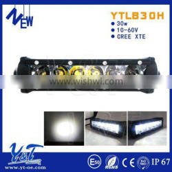 Monthly best sale product 30w LED light bar for offroad with Spot/Flood Beam