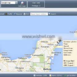 3 level admin account supported gps tracking software