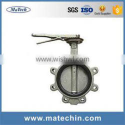 OEM Precision Handle Ss304 Pneumatic Flowseal High Performance Butterfly Valves Quality Choice
