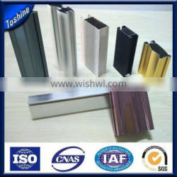 Is alloy or not 6000 series grade T3-T8 bathroom applicaton chemical polished Aluminum extruded profile Quality Choice