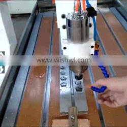 Shandong Jinan Mini 6090 1.5kw/2.2kw spindle 4axis cnc milling cutting machine 3D 9060 cnc router for sale