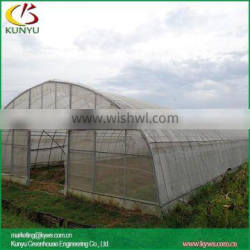 Arch roof type tunnel greenhouse indoor greenhouse kits residential greenhouses