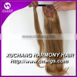 Stock Double Drawn Quality hair pony tails