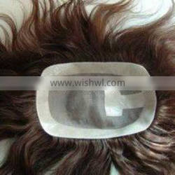 Hot selling top quality brazil remy hair toupee