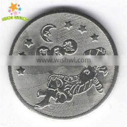 Netheriands Antilles car wash edge lettering token with high quality