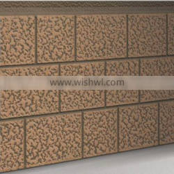 Exterior decorative wall panel / Building facade panel / PU foaming siding popular in Russia