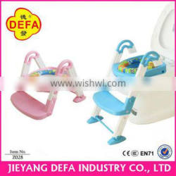 DEFA Multifunctional baby potty chair factory folding children's potty potty toilet stool