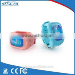 High quality wrist watch personal gps tracker for kids/old people