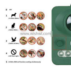 Multiple dog repeller mouse bird snake scare device