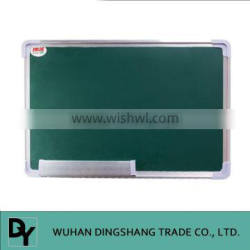 can be equipped with an eraser chalk magnetic green board