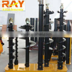 hydraulic earth auger for tree planting