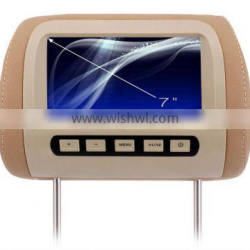 7 inch tft lcd monitor car headrest monitor with stable quality