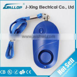 2016 Gallop personal alarm with key ring/personal alarm with light for promotional gift