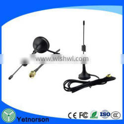 GSM Antenna 433Mhz 3dbi SMA Plug Connector Straight with Magnetic Base