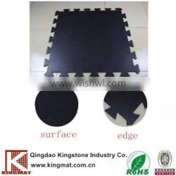 Shock resistance softextile gym mat rubber for equipments