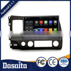 10.2 Inch 2 din RK3188 Cortex A9 Quad Core 1.6GHz car dvd player with GPS for honda
