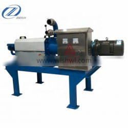poultry manure dewatering machine for sale