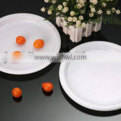 plastic disposable ps plate for dinner