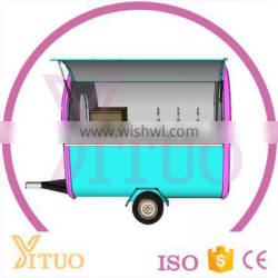 Mobile Food Trailer, Fried Ice Cream Food Cart, Food Truck Quality Choice Most Popular