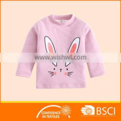Boutique Cartoon Animal Rabbit Soft Baby Sweatshirt