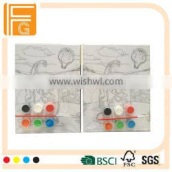 Painting Use and cotton material artist canvas board