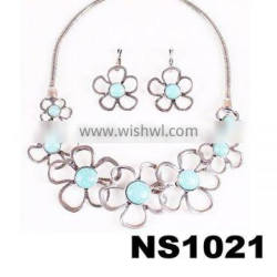 fashion turquoise stones charm costume jewelry factory direct