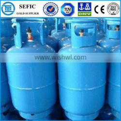 Cap Equipped LPG Cooking Gas Cylinder For Bangladesh Market