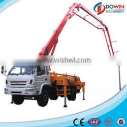 China Dowin good quality Portable 37m Concrete Boom Pump Truck for sale