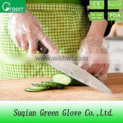 Food Handling Disposable Plastic Clear Pe Gloves