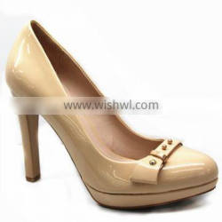 nude sexy fashion women high heels shoes 2015
