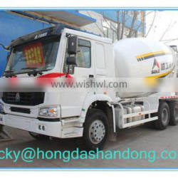 HOWO With Good Quality HONGDA Truck mounted Concrete Mixer