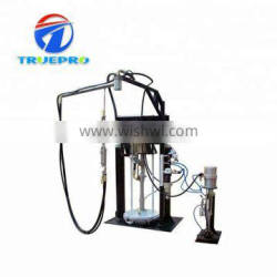 Hollow glass making machine two component sealant extruder