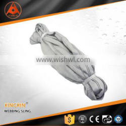 6 Ton high quality polyester lifting sling/ belt/ container lashing equipment/ lashing belt with GS, CE, ISO Certificate