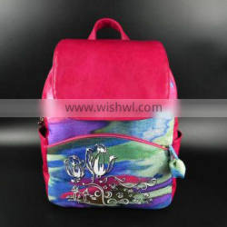New PU Women Backpack for Young Lady Shoulder Bag Wholesale