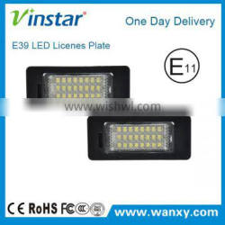 LED Number Plate for BMW E39 Emark LED License Plate Lamps