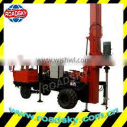 Truck-Mounted Screw Piling Drill Rigs