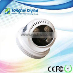 AHD Dome with Infrared Technology 120 Degree Viewing Angle CCTV Camera