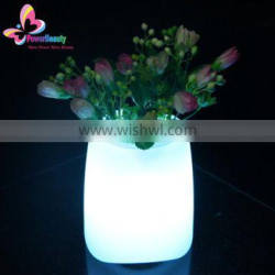 mini portable LED Light flower vase bluetooth Speakers for computers and mobile phones