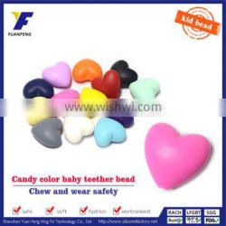 Wholesale Food Grade Silicone Teething Beads For Jewelry